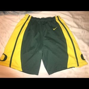 Nike university of Oregon Shorts Size L preowned